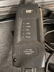 Caterpillar Electonic Technician Communication Adapter 317-7484