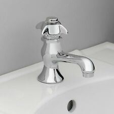 New Vintage Style Chrome Self Closing Lavatory Bath Sink Faucet 3310-150-CH