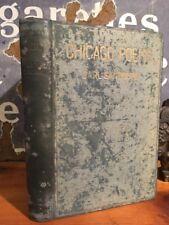 "Very Rare Carl Sandburg ""Chicago Poems"" First Book, Second Printing 1926"