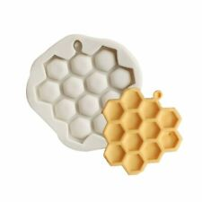 Honeycomb Bee Silicone Mould Mold Sugarcraft Icing Fondant Cake Decorating UK