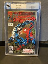 The Amazing Spider-Man #375 (Mar 1993, Marvel) PGX Graded 9.6 Gold Foil Cover