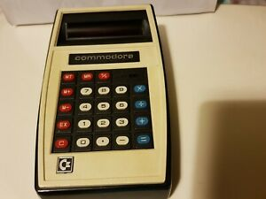 Commodore MM2PM Handheld Electronic Calculator