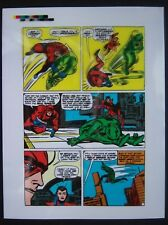 Original Production Art TALES TO ASTONISH #51, page 2, DICK AYERS art, Human Top