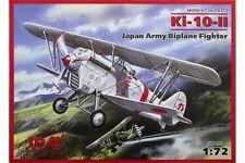 ICM 72311 1/72 Ki-10-II Japan Army Biplane Fighter