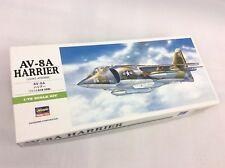 1/72 HASEGAWA 00240 AV-8A Harrier Plastic Model Kit - gift