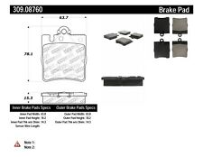 StopTech Sport Brake Pads fits 1996-2009 Mercedes-Benz CLK320 C320 E320  STOPTEC