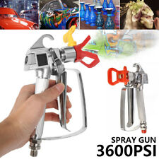 Paint Sprayer Gun Airless Wagner Electric 550W Home Outdoor Wall Handheld Spray