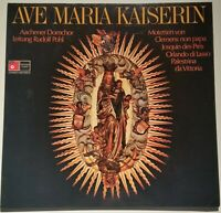 Ave Maria Kaiserin Motetten Aachener Domchor Rudolf Pohl BASF Stereo 2021443-5