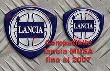 STEMMI FREGI LANCIA MUSA logo classico ADESIVO 3D RESINATO TUNING