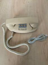 Tan Vintage Princess Phone At&T Push Button Telephone