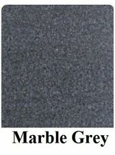 20 oz Cut Pile Marine Outdoor BASS Boat Carpet - 6' X 30'-Marble Grey