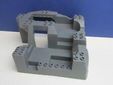 lg DUPLO lego 3D GREY BASE BOARD stud plate CITY HOUSE CASTLE ROCK building