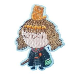 Harry Potter Inspired Hermione Granger character Iron On Patch Sew on transfer