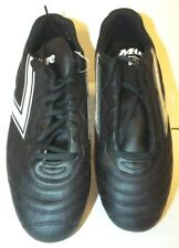 Vintage 90s Mitre New Mens 10.5 Soccer Football Shoes Cleats Black With White