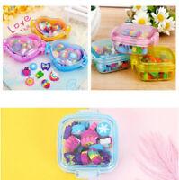Cute Kid 22pcs Kawaii Gift Eraser Rubber Stationery Supplies School material