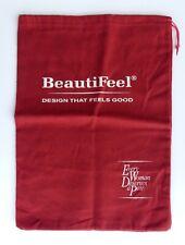 Beautifeel Shoes Cranberry Fleece Dust Bag