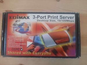Printer-server PS-3101P,  um Drucker ohne Netzanschluss ins Netzwerk einzubinden