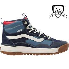 Vans UltraRange EXO HI MTE Navy Blue All Terrain Shoes Size Men's 8/ Women's 9.5