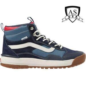 Vans UltraRange EXO HI MTE Navy Blue All Terrain Shoes Size Men's 7.5/ Women's 9