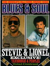 Stevie Wonder & Lionel Richie Blues & Soul 1986     Mantronix    The Chi-Lites