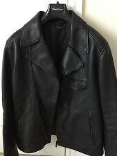 Kenneth Cole Para Hombre De Cuero Biker Jacket MEDIUM, usado dos veces