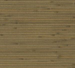 Green Bamboo Grass Grasscloth Wallpaper - Double Roll  BH1830