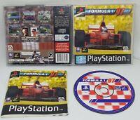 Formula 1 97 Playstation 1 PS1 Psygnosis VGC FAST FREE POST