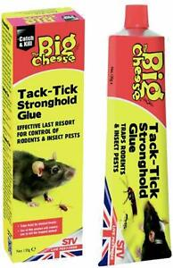 The Big Cheese Tack-Tick Stronghold Traps Rodents, Mouse Rats Insect Pests