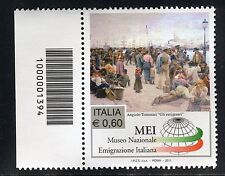 ITALIA 2011 MUSEO EMIGRAZIONE/EMIGRATION/PEOPLES/HARBOR/PAINTING CODICE A BARRE
