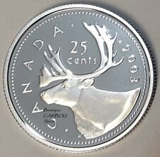 2003 Canada Silver Proof 25 Cents