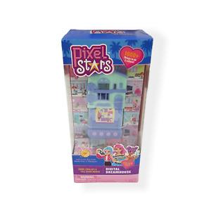 PIXEL STARS Dreamhouse Electronic Fashion Keyring Game - Brand New