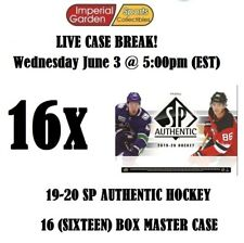 19-20 SP AUTHENTIC 16 (SIXTEEN) BOX CASE BREAK #1731 - Washington Capitals