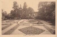 RARE Carte postale ancienne  GIVRY (Saône et Loire) Jardin Public