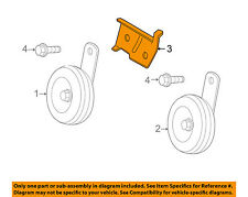 Scion TOYOTA OEM 08-14 xD-Low Note Horn Bracket 8659152050
