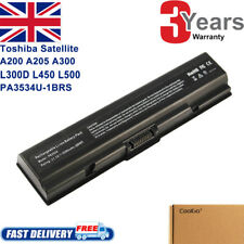 Battery For Toshiba Satellite Pro A300 A200 L300D L450 L500 PA3534U-1BRS UK