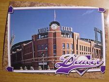 Coors Field Stadium Postcard Colorado Rockies MLB