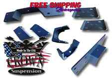 "Crown Suspension 1999-2006 Sierra Silverado 6"" Rear Lowering Flip Kit C-Notch"
