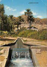 BG20905 jericho la fontaine d elisha  vue vers le mont de tentation israel