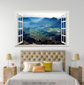 3D Plant Mount 1038 Open Windows WallPaper Murals Wall Print AJ Carly