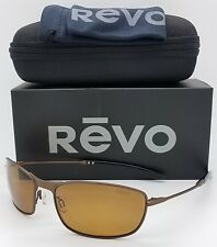 NEW Revo Thinshot sunglasses RE 3090 200 Bronze Polarized Aviator RE3090 Thin