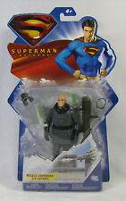 Superman Returns Missile Launching Lex Luthor Mattel 5 inch figure NIP 4+ S63-1