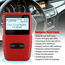 Universal Auto OBOII EOBD Scanner Code Reader Car Engine Check Diagnostic Tool
