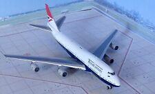 British Airways 100, B747-400 Diecast Model Aircraft 1/400 Gemini Jets,GJBAW1858
