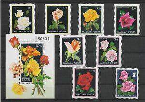 Hungary Stamp Set - Roses