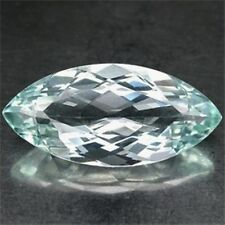 10.73CT. EXQUISITE! BRIGHT BLUE AQUAMARINE MARQUISE IF