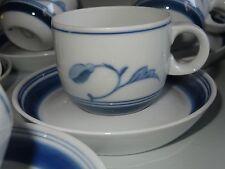 9 TASSES A CAFE PORCELAINE  Bing & Grondahl COPENHAGEN Corinth