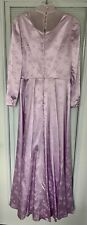 Victorian Dress Womens Edwardian Costume Gown Hand Sewn - Size 12