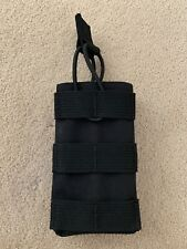 Warrior Assault Systems 5.56mm Single Open Mag Pouch Black