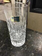 Lausitzer Lead Crystal German Hand Cut Clear  Set Of 6 Tumblers