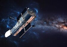 A3| Hubble Deep Space Telescope Poster Size A3 Astronomy Poster Gift #16213